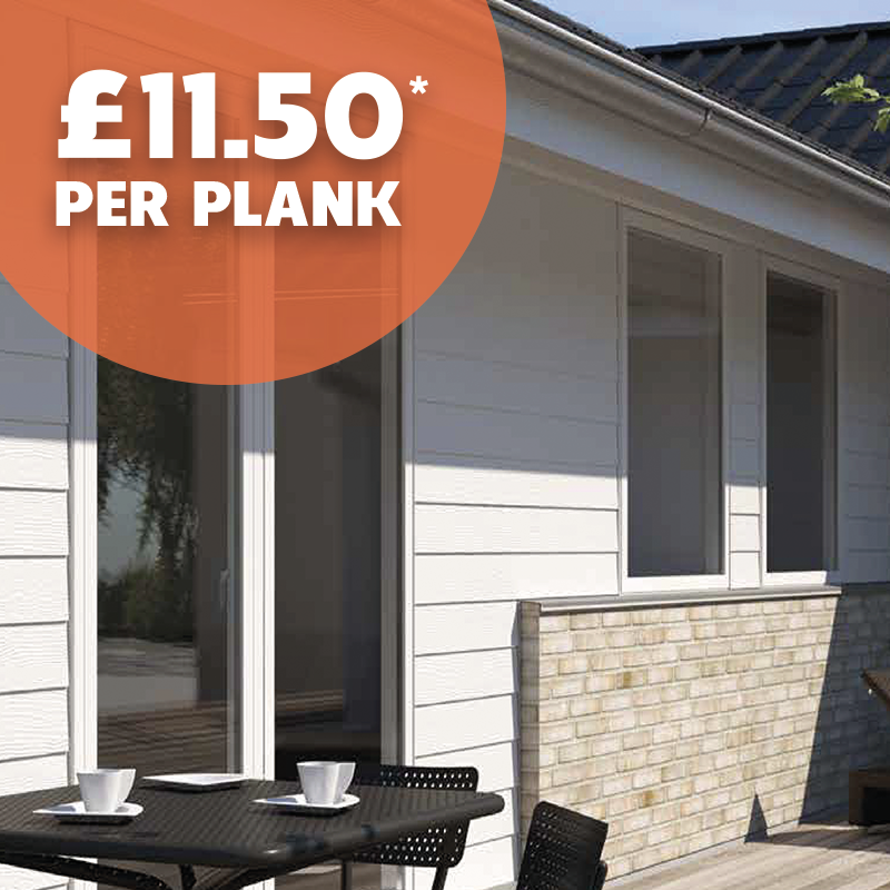 Cembrit Plank - Wood Effect Fibre Cement Weatherboard