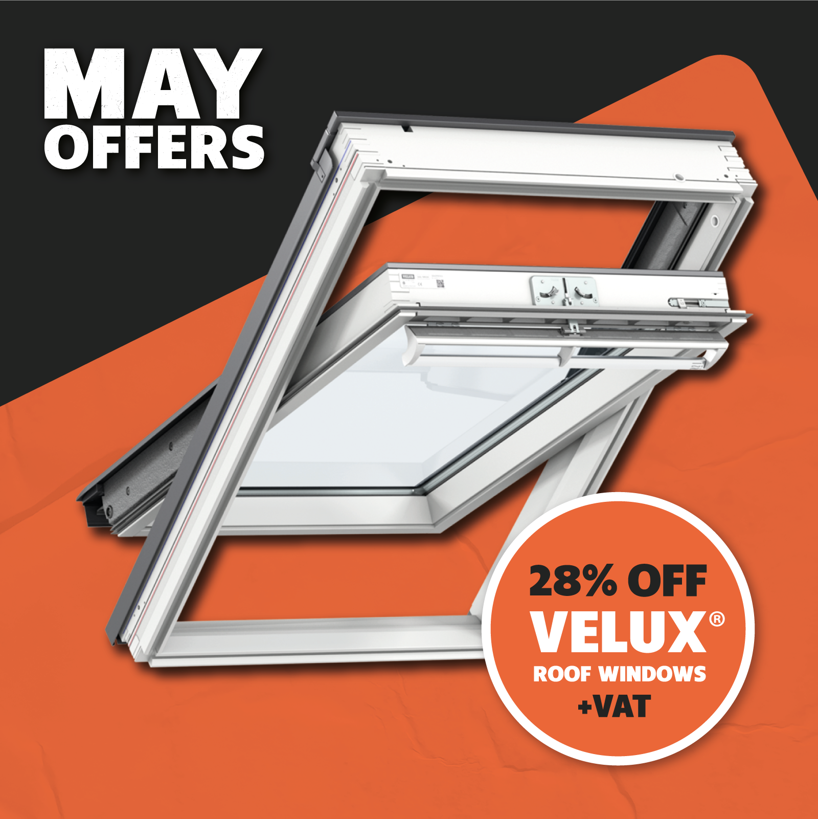 VELUX Centre-Pivot Roof Window
