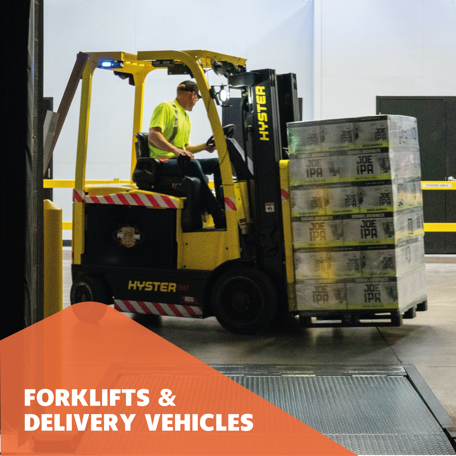 Forklifts & Delivery Vehicles