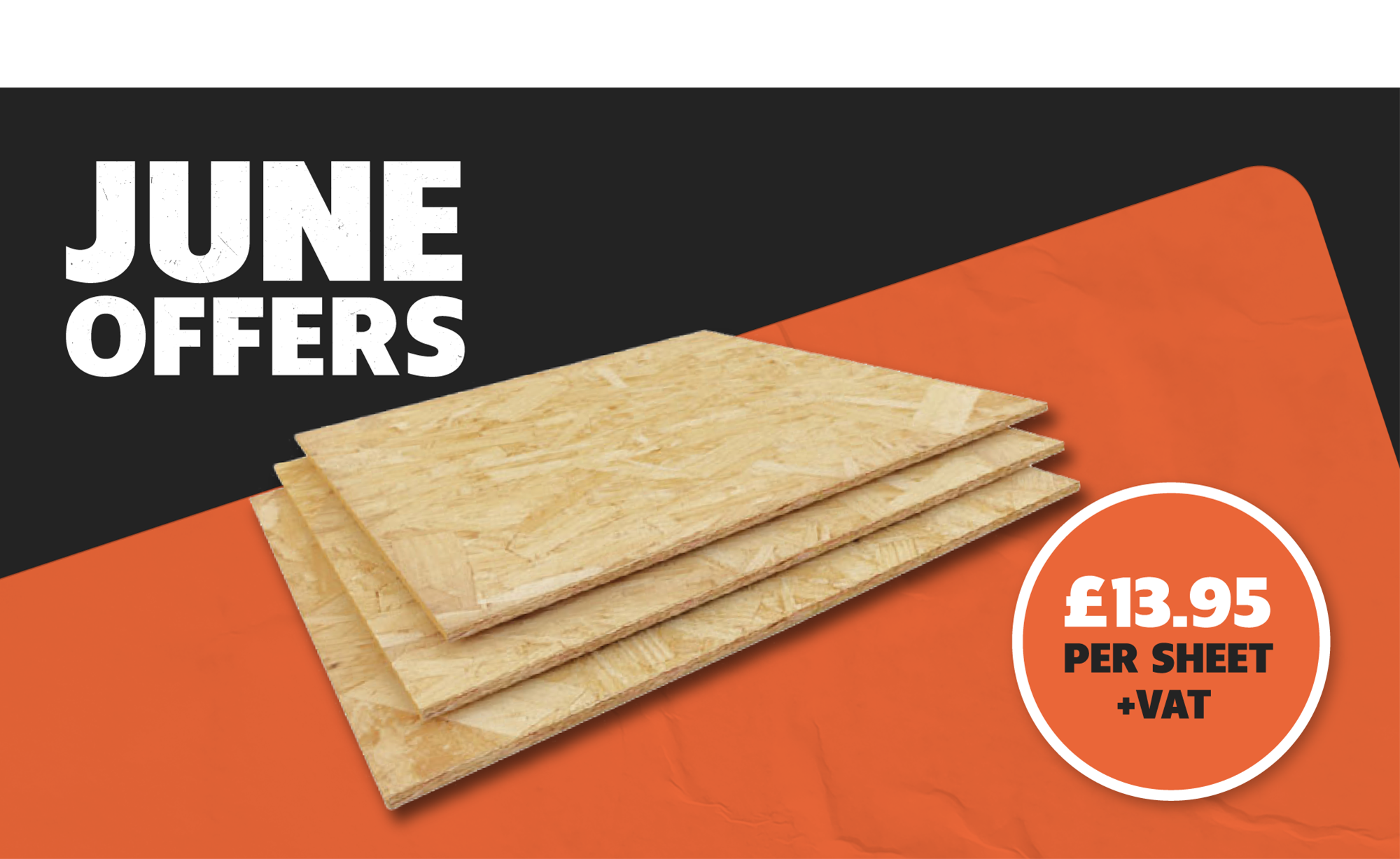 0SB BOARD ONLY £13.95 PER SHEET