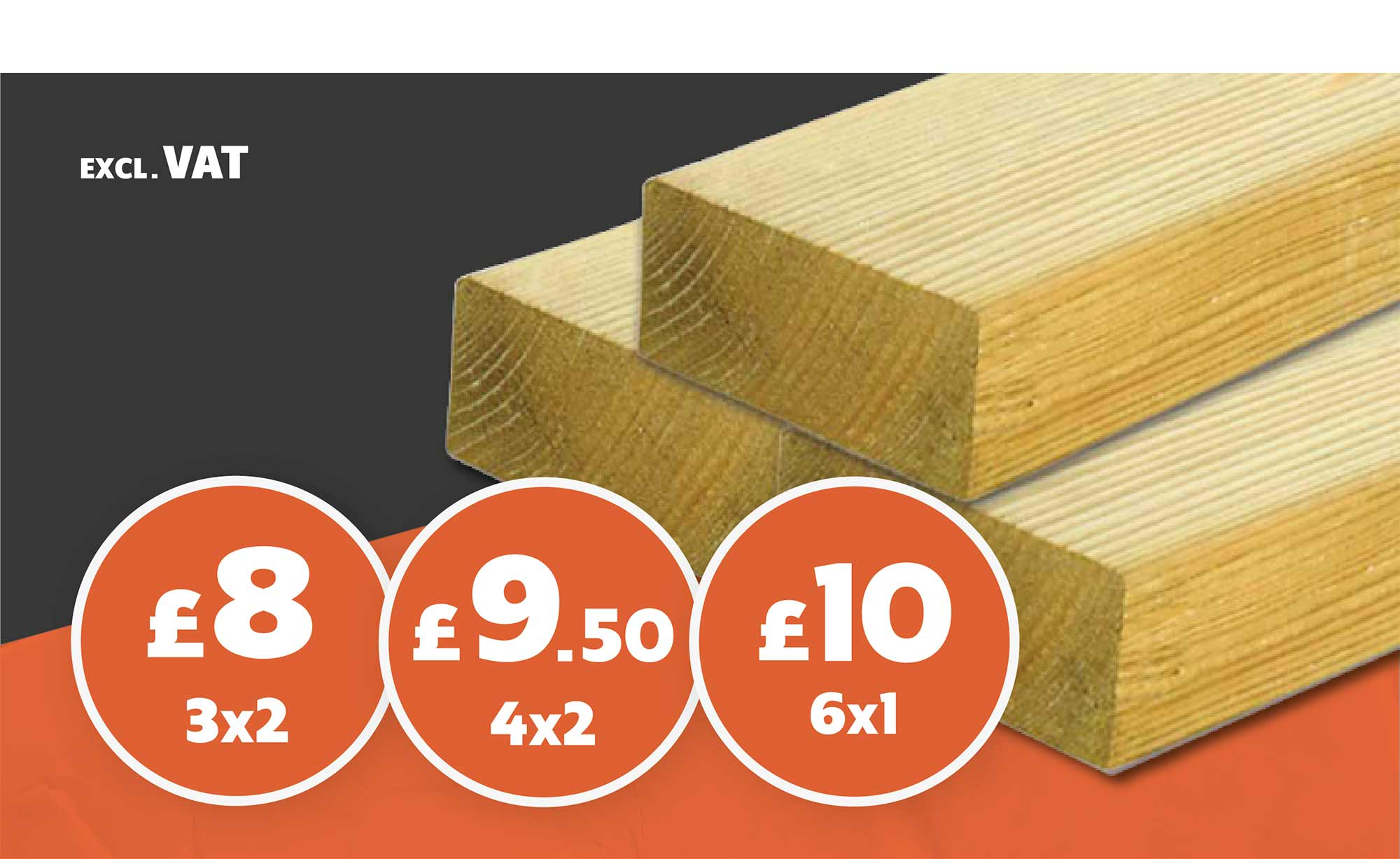 SAWN TIMBER FROM £8
