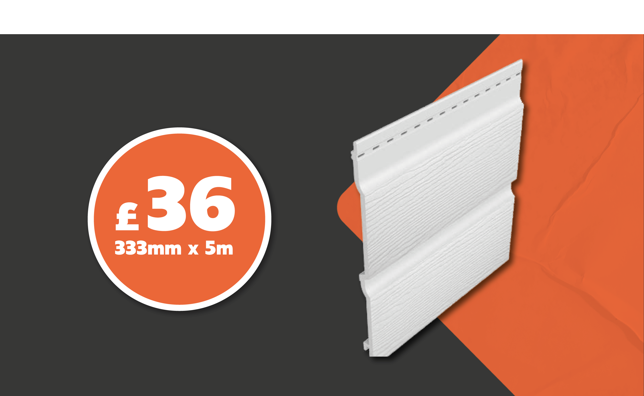 FREEFOAM CLADDING JUST £36 PER LENGTH