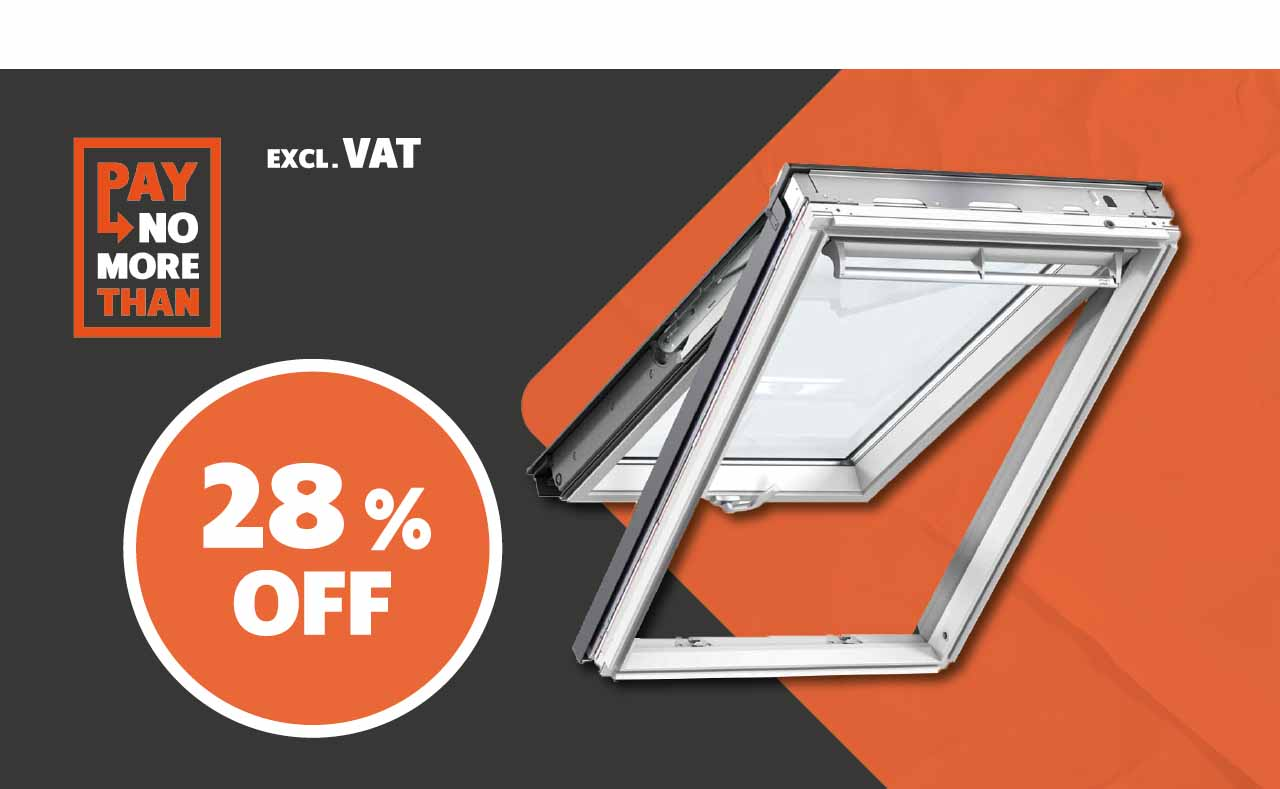 28% OFF all VELUX® Roof Windows