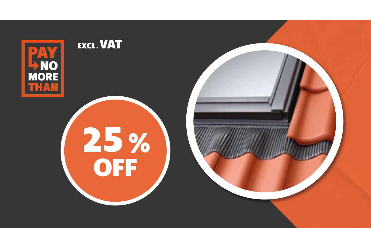 25% OFF all VELUX® Flashing Kits